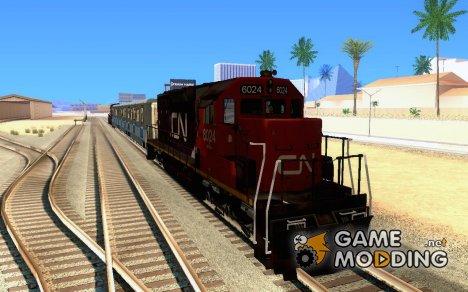 Canadian National SD40U for GTA San Andreas