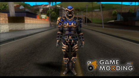 Shepard Reckoner Armor from Mass Effect 3 для GTA San Andreas