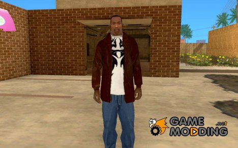 Кожаная куртка v 1.1 для GTA San Andreas