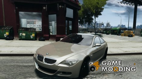 BMW M6 Orange-Black Bullet для GTA 4