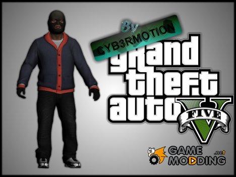 Франклин (Грабитель) из GTA V for GTA San Andreas
