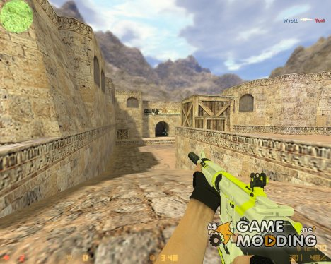 M4A1 Asiimov Lime из CS:GO for Counter-Strike 1.6