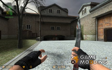 Shark Knife Reskin для Counter-Strike Source
