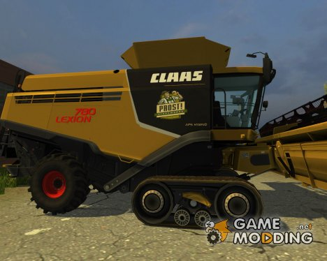 Claas Lexion 780 Cat для Farming Simulator 2013