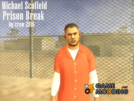 Michael Scofield Prison Break for GTA San Andreas