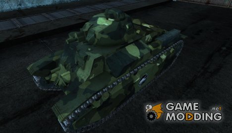 Шкурка для D2 для World of Tanks
