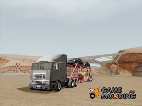 Прицеп-перевозчик для Navistar International 9800 for GTA San Andreas