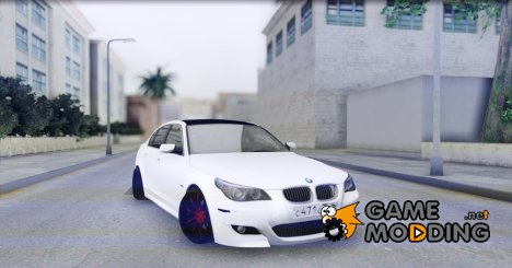 BMW M5 E60 Stanced for GTA San Andreas