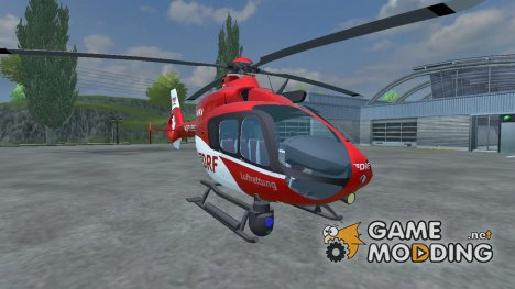 Eurocopter EC 135 T2 v 1.0 для Farming Simulator 2013