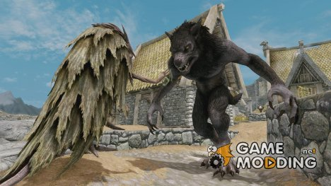 Mongo the werewolf для TES V Skyrim
