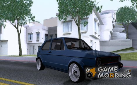 VW Golf 1 Tuned for GTA San Andreas