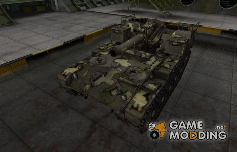Простой скин M41 for World of Tanks