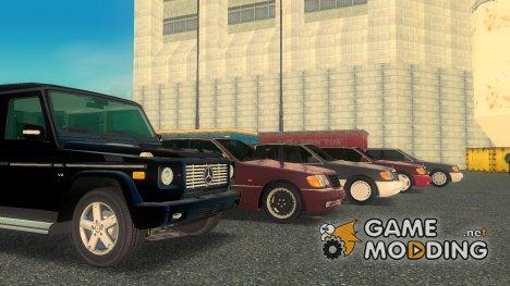 Пак машин Mercedes-Benz for GTA 3