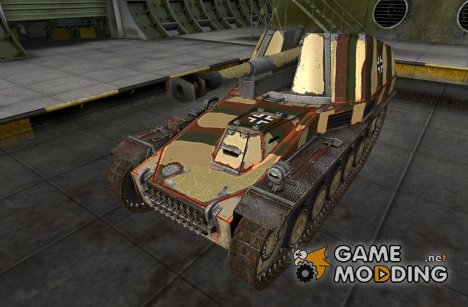 Шкурка для Wespe для World of Tanks