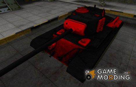 Черно-красные зоны пробития T32 for World of Tanks
