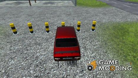 Выдвижные столбы для Farming Simulator 2013