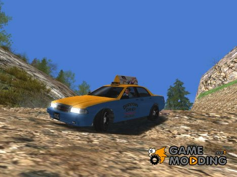 Taxi from GTA V для GTA San Andreas