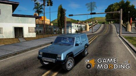 Jeep Cherokee XJ Radmir RP для GTA San Andreas