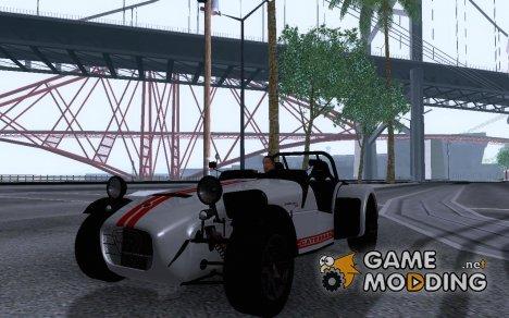Caterham R500 for GTA San Andreas