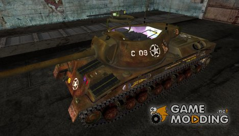 Шкурка для T28 Prototype Dirty для World of Tanks