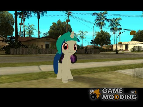 DJ Pon-3 (My Little Pony) for GTA San Andreas