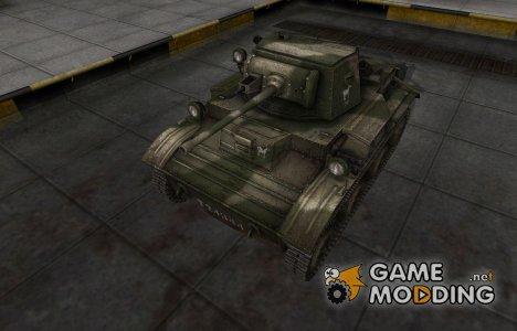 Скин с надписью для MkVII Tetrarch for World of Tanks
