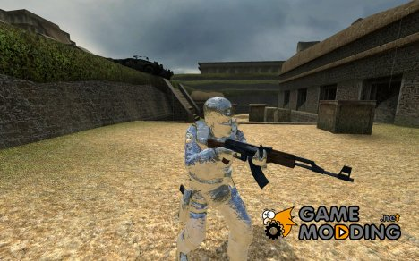 Blue CADPAT Camo для Counter-Strike Source