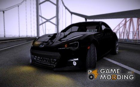 Subaru BRZ 2010 for GTA San Andreas