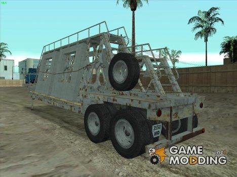 Полуприцеп панелевоз for GTA San Andreas