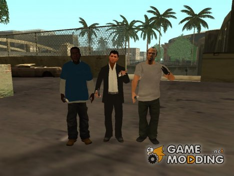 Characters from GTA 5 for GTA San Andreas