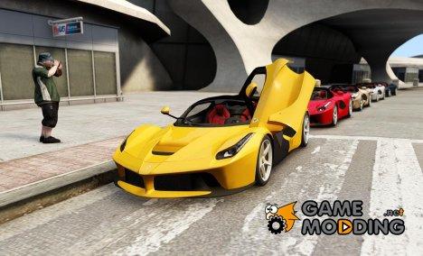 Ferrari LaFerrari Coupe [EPM & correct interior] v1.0 для GTA 4