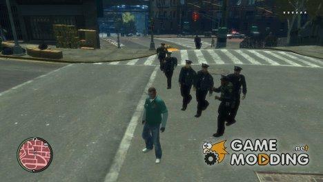 Удаление оружия for GTA 4