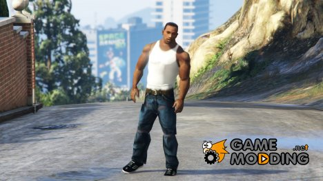 Carl Johnson (CJ) WIP for GTA 5