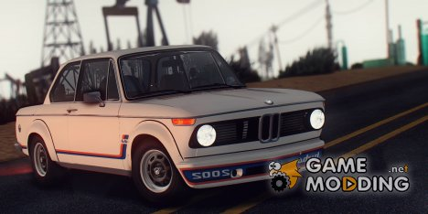 BMW 2002 Turbo (E10) 1973 for GTA San Andreas