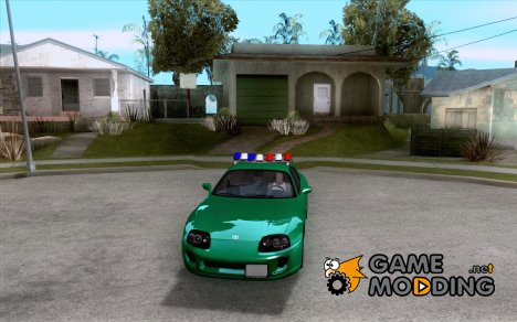 Toyota Supra California State Patrol for GTA San Andreas