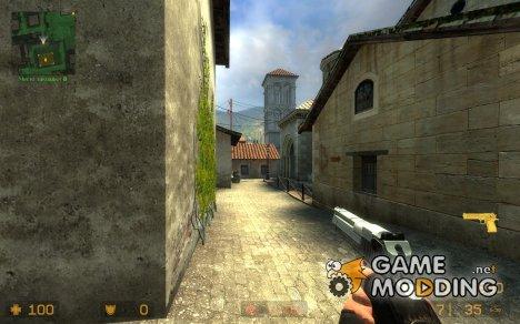 Desert Eeagle Gold Recolor для Counter-Strike Source