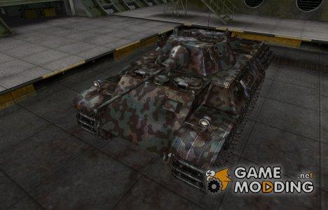 Горный камуфляж для VK 16.02 Leopard for World of Tanks