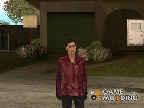 Mona Sax red jacket from Max Payne for GTA San Andreas