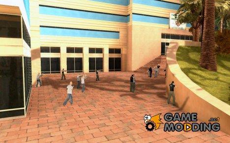 Полицейская разборка для GTA San Andreas