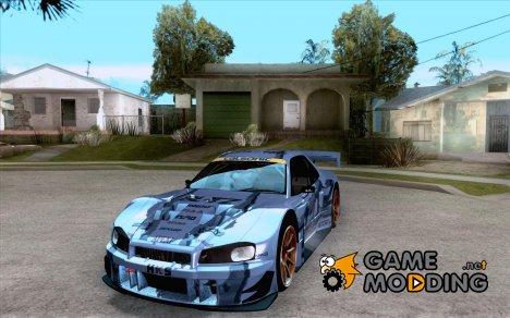 Nissan Skyline Touring R34 Blitz for GTA San Andreas