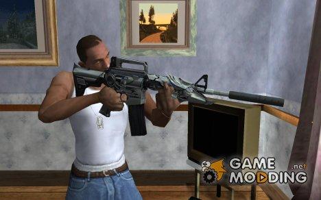 M4 Белый хищник for GTA San Andreas