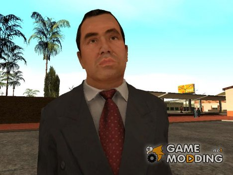 Sal Gravina (Black Suit) from Mafia II Jimmy's Vendetta для GTA San Andreas
