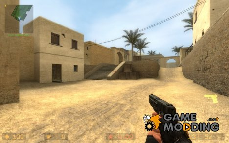 Default P228 для Counter-Strike Source