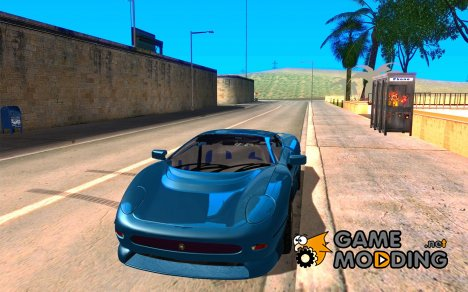 Jaguar JXJ 220 для GTA San Andreas