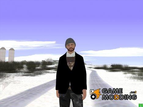 Skin GTA Online в шапке for GTA San Andreas