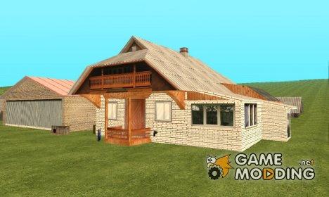 Ремонт дома в деревне для GTA San Andreas