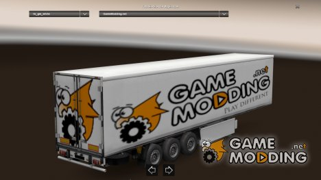 Mod GameModding trailer by Vexillum v.1.0 для Euro Truck Simulator 2