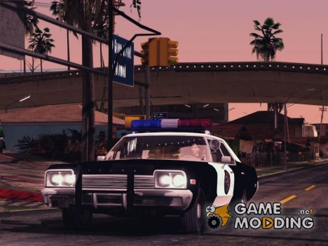 1974 Dodge Monaco Police LS (IVF) for GTA San Andreas