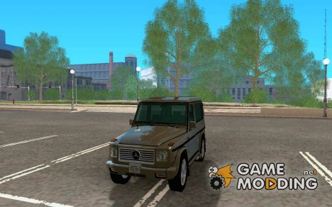 Mercedes-Benz G500 1999 Short [with kangoo v3] для GTA San Andreas