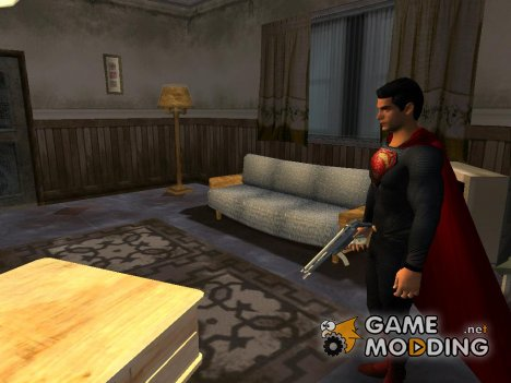 Superman Man Of Steel skin для GTA San Andreas